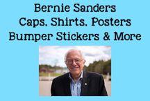 Bernie Sanders Caps, Shirts, Posters, Bumper Stickers & More (Politics) / by Bernie Sanders For President