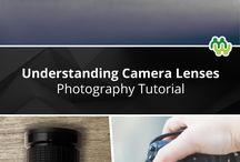 cámaras y lentes