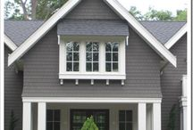 Grey shades for beautiful exteriors / Houses with grey shades