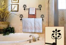 Bathroom Accessories / Bathroom Accessories, Certainly, there is no one can do without the bathroom in his house as luxurious and elegant bathroom will add the value of the house. It is very vital to adjust your choice for the accessories you are going to buy for your bathroom. You can choose your bathroom accessories from many styles, as elegant, classic, traditional simple, etc, as every style has its requirements, for example, an elegant bathroom doesn't need to put so many accessories in it, but you can use glass