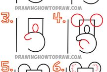 Letter and number drawings