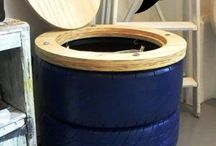 Tires As Home Decors