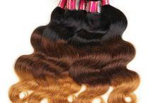 Ombre Hair / Ombre Hair :(Blonde Ombre Hair、Brown to Blonde Ombre Hair、 Brown Ombre Hair 、Black Ombre Hair 、Dark Brown Ombre Hair)