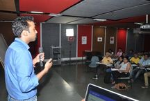 Team Youtube at the Whistling Woods International / YouTube conducted a workshop for our students at #WhistlingWoodsInternational on 26th November, 2015. Team from #YouTube shared their knowledge with the students on #videoproduction and collaboration with other creators. Earlier in the year, YouTube had partnered with #WWI to set up #YouTubeSpace, a collaboration and production facility for aspiring YouTube video creators.