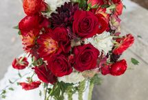 Red Flowers / Wedding / by Tori Epperson