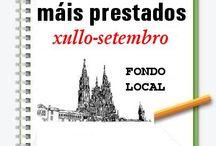 Máis prestados FONDO LOCAL VERÁN 2014 / Os máis prestados de FONDO LOCAL na Biblioteca Ánxel Casal. XULLO-SETEMBRO 2014