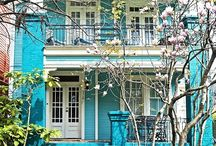 The Painted Lady / I love colorful informal homes