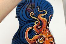 ukulele art
