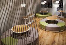 Bars and Restaurants Interiors