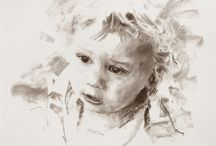 Ros Koch Art: Charcoal / A collection of work done by Ros Koch