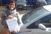 Stockwell / People who passed their tests after taking driving lessons in Stockwell with the Wimbledon Driving School.