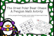 Primary Teaching Ideas- Penguin Unit / Ideas for teaching about penguins in kindergarten, first, and second grades