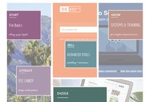 A Savvy Start / a place to keep-made for-you things to help organize thinking and projects for new business