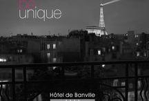 Anniversaire 50 ans ! L'hôtel de banville a une histoire..