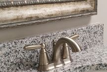 Bathroom Updates / Mirror Cover Up