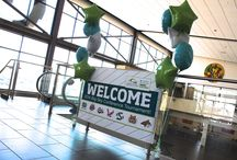 Grand Forks Welcomes the Big Sky Conference! / The Convention & Visitors Bureau team has been busy preparing to welcome players, coaches and officials to the 2014 Big Sky Conference Women's Basketball Championships! / by Visit Grand Forks