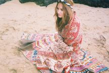 Bohemian & folk style & floral print / by Lin Ling