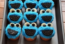 cookie monster / :)