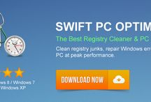 PC CLEANER / Get one of the best PC optimizer for your computer speedup. swift PC optimizer clean you PC's all junk and registry file as fast as possible.