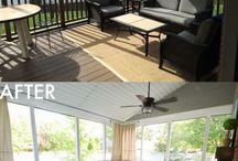 Screen Porch Living