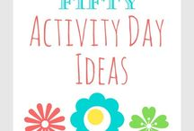 Activity Days Ideas / by Megan MNMSpecial