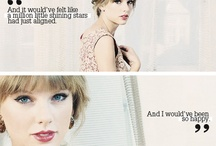 Taylor Swift! <3 / 'People haven't always been there for me but music always has' - Taylor Swift <3