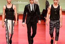 Dolce & Gabbana uomo / Dolce & Gabbana collezione e catalogo primavera estate e autunno inverno abiti abbigliamento accessori scarpe borse sfilata uomo.