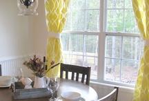 window treatments / by Heather Shepard