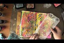Artsy Stuff: Journaling Videos