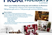 PROXI Home For The Holidays Contest / by Tiffany Winner