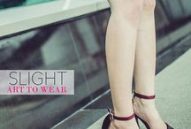 SLIGHT's Customers / Fashion Blogger and Pretty People, Thanks for loving and wearing our shoes, dear! :)