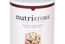 Nutristore Meat and Protein Products / Having a food storage supply may be the most important way to prepare for an emergency. Nutristore™ has done the hard part by creating great packages of both dehydrated and freeze-dried foods that will help prepare you for whatever may come! You can find Nutristore™ products at FoodStorage.com!