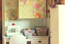 Sewing/Craft Rooms / by Torie Rice