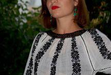 Крестьянская блуза