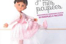 tricots pour poupées .