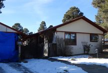 72 Canyon Circle, Pagosa Springs, CO 81147 / Listing Broker - Shelley Low This double wide mobile home was made for a large family and it has a double lot with trees to provide shade in the summer months. Two sheds to tuck your toys away and a heated 2 room workshop complete with a kiln to make pottery if you'd like it, all attached to the back of a 2 car garage.