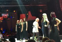 Salon Masters Revlon Show in Toronto / We had such an amazing experience at the Salon Masters Show in Toronto last night! A big thank you goes out to Jim, Jennifer & Belinda from CND & American Crew who were kind enough to invite us to this incredible event!