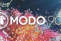 Modo 3D-mallinnus / Modo 3D-mallinnusohjelmaan liittyviä kuvia