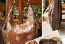 handmade batik/tenun bags