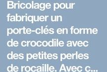 porte cle crocodile
