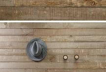 Barn Boards / Give your space a rustic look.