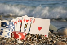 Poker...All In... / I love the game...and in a city that never sleeps, the game never ends.  No start, no end. Like a rolling tide- in, out...it just is...that's Poker.