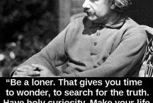 Albert Einstein / by Jennie Ellis