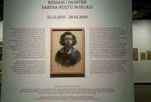 Ressam Sabiha Rüştü Bozcalı sergisi / Ressam Sabiha Rüştü Bozcalı sergisi http://www.gezginnerede.com/2016/01/16/ressam-sabiha-rustu-bozcali-sergisi-saltgalata/