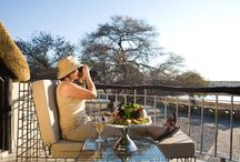Okaukuejo Camp, Etosha / One of the largest savannah conservation areas in Africa, Etosha National Park is world renown for its spectacular wildlife: elephant, black and white rhino, lion, leopard, cheetah, large herds of springbok, zebra, wildebeest and giraffe. There are 3 main camps in Etosha where there are a variety of rooms in different price brackets - we recommend Okaukuejo.