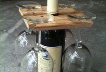Porta vino handmade