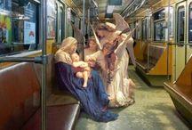 Jesus, Mary and god