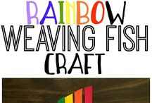 Craft for Kids / Fun, colorful, engaging craft ideas for kids! Sometimes the simple ones are the best.