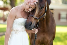 Soft blue & pink wedding style