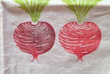 stamp fabric